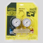 Манометричен блок Refco APEX-6-DS-R22