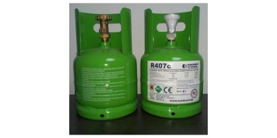 Фреон R407c - 2.0 кг. бутилка