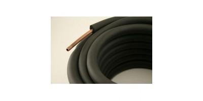 Изолация тръбна INSOFLEX 6х6 мм черна с талк