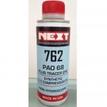 Хладилно масло NEXT 762 PAO 68 с УВ оцветител - 250мл.